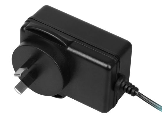 18W SAA Universal AC DC Adapter for Switching Power Supply Black