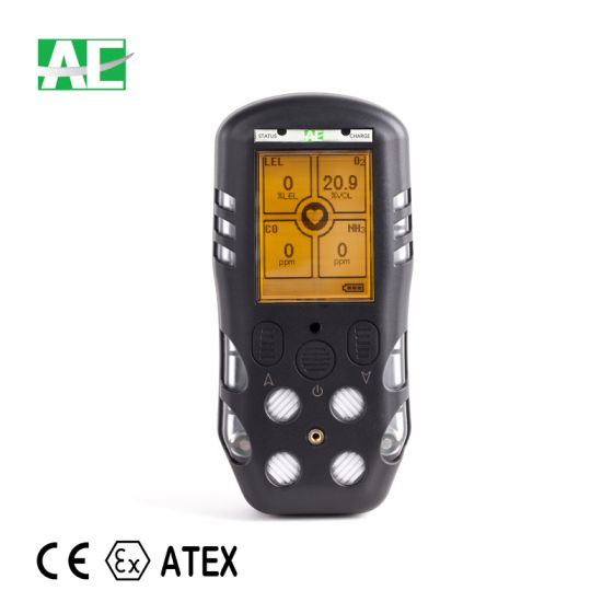 Ce Atex Approved Lel O2 Co H2s Portable Multi Gas Detector pictures & photos