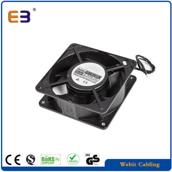 120 38 Ac 2 Cores Cooling Fan Used In Server Rack Cabinet