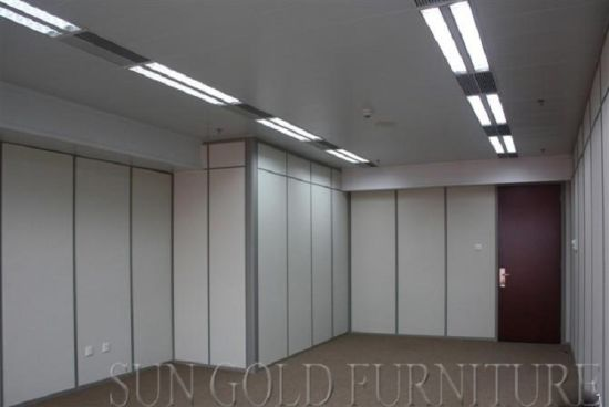 Modern Wood Partition Wall Soundproof Office Room Divider (SZ WS620)
