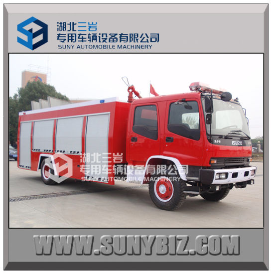 Isuzu Fvr 4000L - 8000L 4X2 Water and Foam Fire Truck pictures & photos