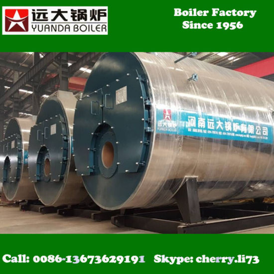 China 1 Ton to 20ton Gas Fired Fire Tube Boiler Price - China ...
