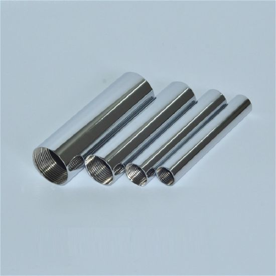 Stainless Steel Metal Stamping Tube Part with Inner Screw Thread pictures & photos