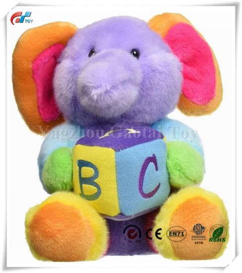 China Custom Design Plush 12 Abc S Musical Elephant Toy China