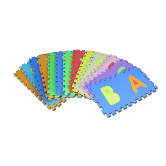 China High Quality Non-Smell Kamiqi Alphabet EVA Foam Jigsaw Puzzle ...