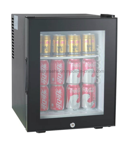 Hotel Automatic Defrosting Minibar with Glass Door pictures & photos