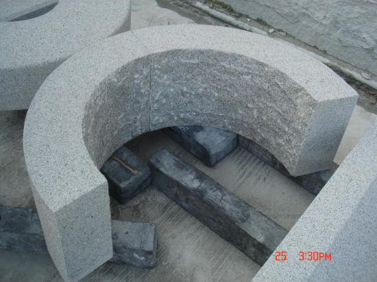 Curve Granite Kerbstone Bushhammered Curb pictures & photos