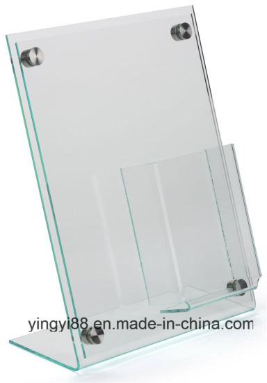 "Wholesale 4"" X 6"" Acrylic Sign Holder pictures & photos"