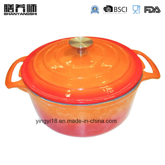 Enamel Cast Iron Stock Pot Manufacturer From China pictures & photos