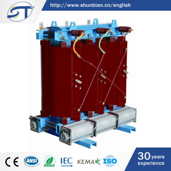 China Scb10-50kVA 11/0 4kv 3 Phase Dry Type Transformer