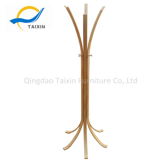 Standing Garment Wooden Hanger with Various Colors