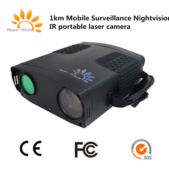 Mobile Surveillance Handheld Laser Camera