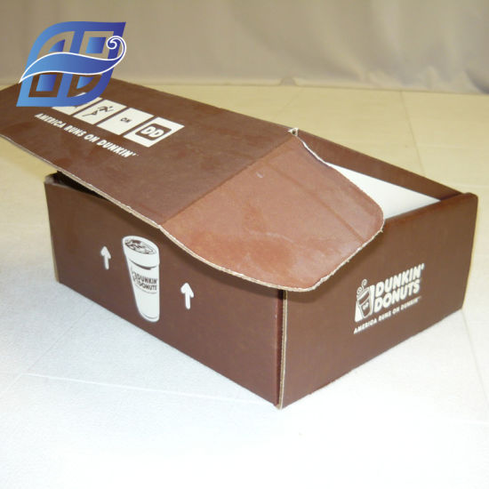 Safety Corrugated Box in Carton Packaging with Color Print