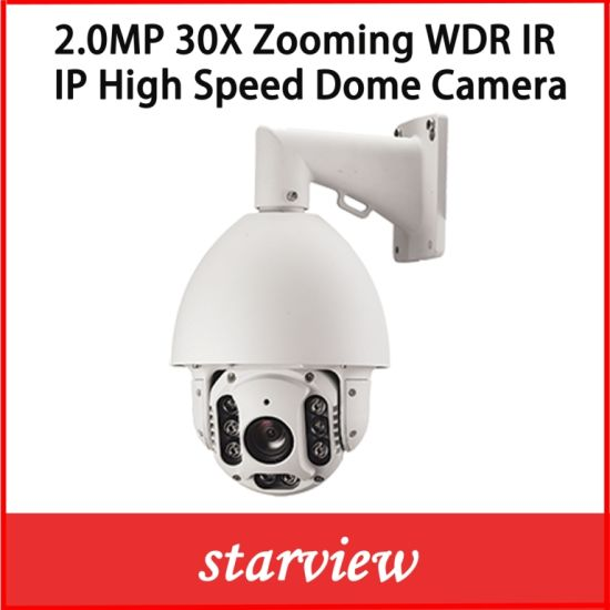 2.0MP 30X IP Network PTZ High Speed Dome Security Camera pictures & photos