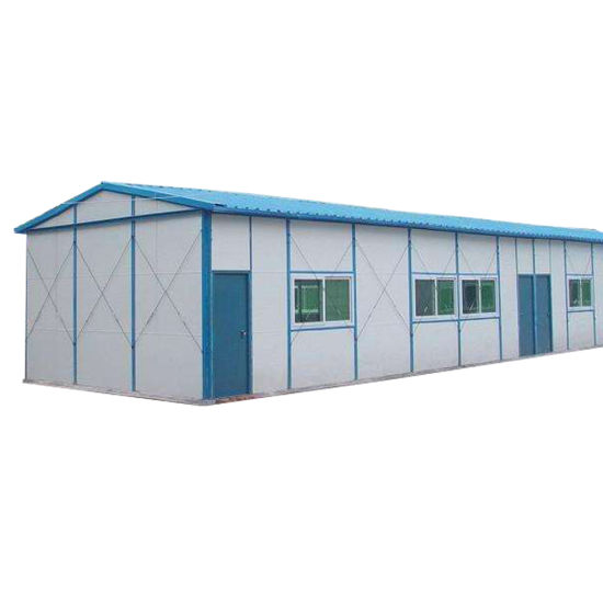 China Easy Construction Small Movable House Modular Steel Frame ...