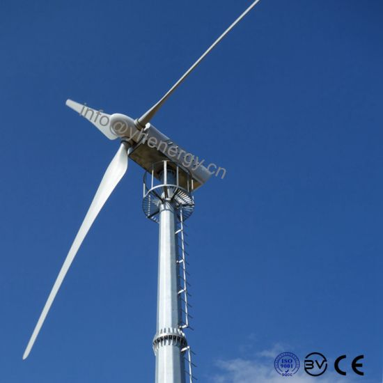 20kw Pmg Wind Turbine Variable Pitch Hybrid Wind Solar Windmill pictures & photos