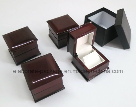 Wooden Piano Finish Lacquer Wood Packing Box Jewelry Box Earring Box