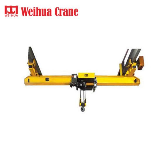 Weihua Suspension Bridge Crane Light Duty Concrete Girder Lifting Crane