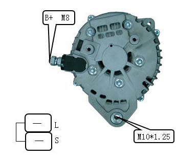 New Alternator for Hitachi Infiniti Lester 11120 Lr1130-701 23100-8s100 pictures & photos