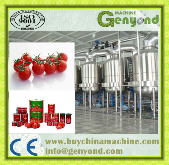 Tomato Paste Production Line /Machine pictures & photos
