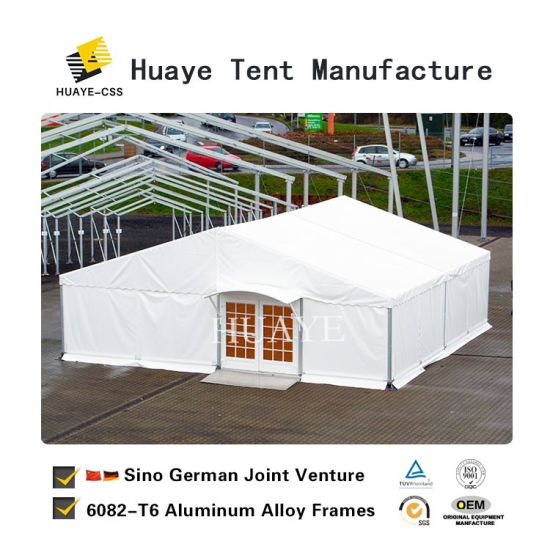 China Popular 20X20 Wedding Party Tent with Windows on Sale