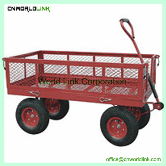 Hot Sell Foldable Heavy Duty Garden Wagon Cart Garden Trolley