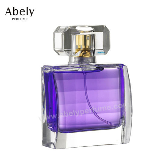 Golden Coating Glass Perfume Bottles for Body Spray pictures & photos