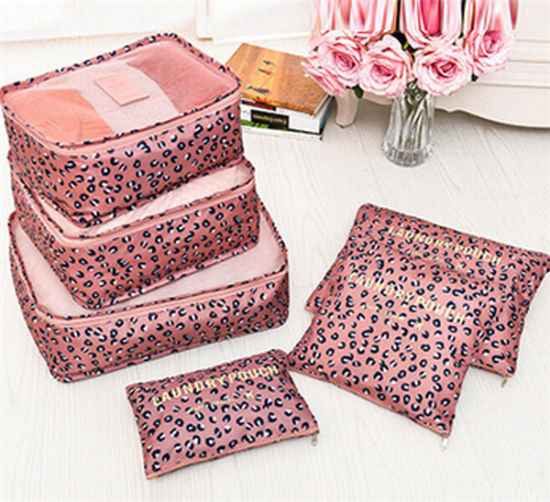 Latest Design Fashion 6PCS Storage Mesh Pouch Luggage Travel Organizer pictures & photos