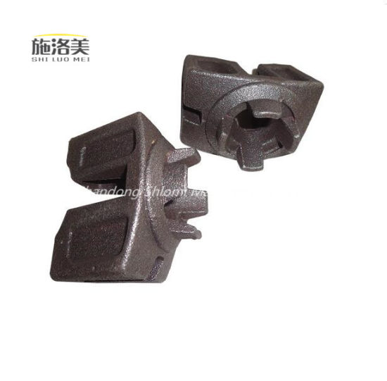 Drop Forged Scaffolding Accessories Brace Head/Ledger Head for Ringlock