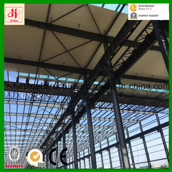 Prefabricated Steel Structure Godown to Africa pictures & photos