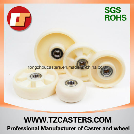 200*50mm Industrial Mc Nylon Caster Wheel Without Ribs