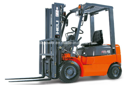 1.5t Heli Internal Combustion Counterbalanced Forklift (CPCD15) pictures & photos