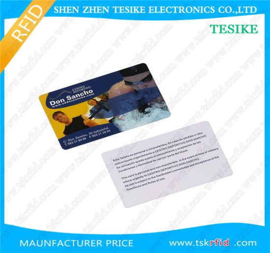 Blank White Cards Tk4100 Chip with 18 Uid Numbers Inkjet Print