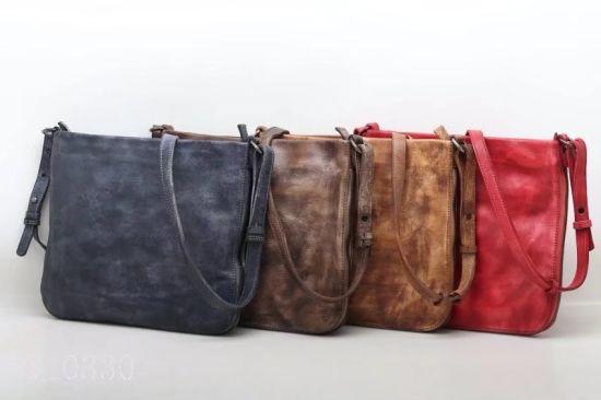 173a8ed4af China Handmade Good Quality Fashion Leather Shoulder Bag (F10330 ...