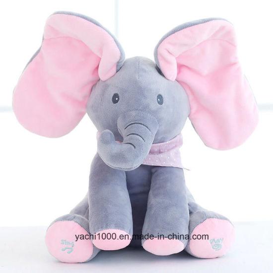 Elephant Stuffed Toy Soft Baby Cute Toy Plush Elephant