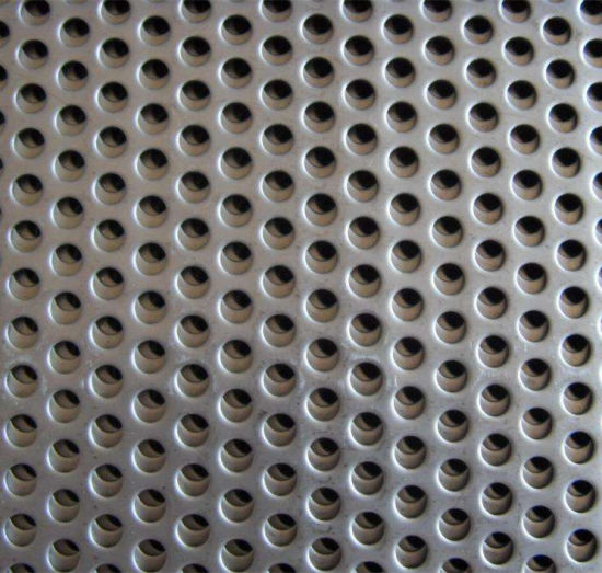 Galvanized Perforated Metal Mesh / Stainless Steel Perforated Sheet / Aluminium Hole Punching Sheets