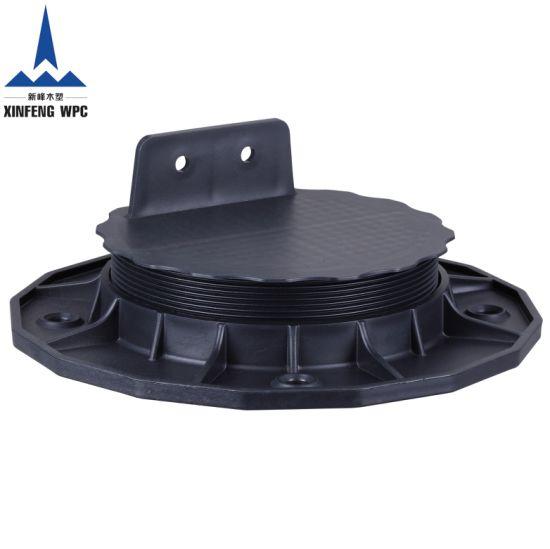 Custom-Made Adjustable Plastic Pedestals with Range 18-32mm for Deckings