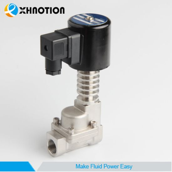 China 300 Degrees High Pressure Ss Steam Solenoid Valve