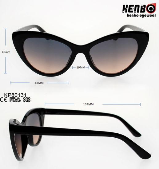 bd932aab8c China Fashion Cateye Plastic Sunglasses Kp80131 - China Sunglasses ...
