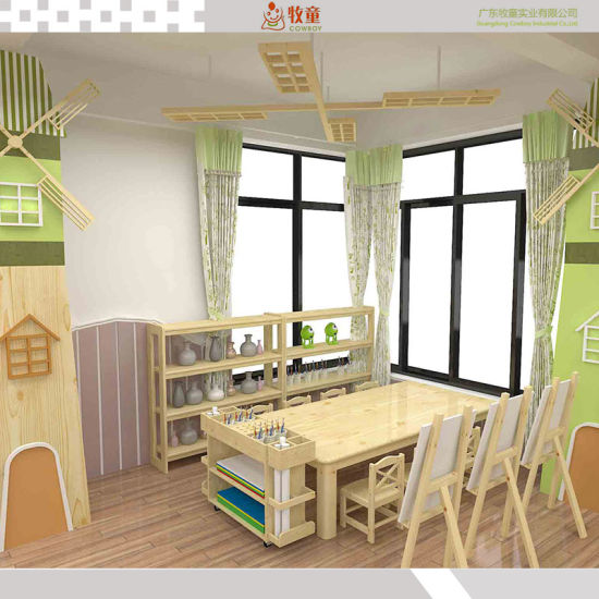 Preschool Classroom Kindergarten Furniture Wooden Chair
