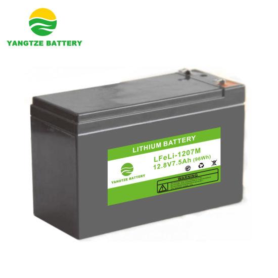 12V 7ah Lithium Li Ion LiFePO4 Battery with 8000 Cycles Life