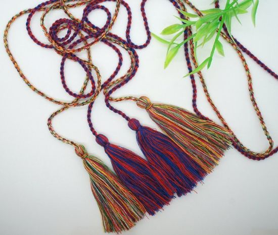 High Quality Fashion More Color Choice Tassel Fringe for Curtain Decoration