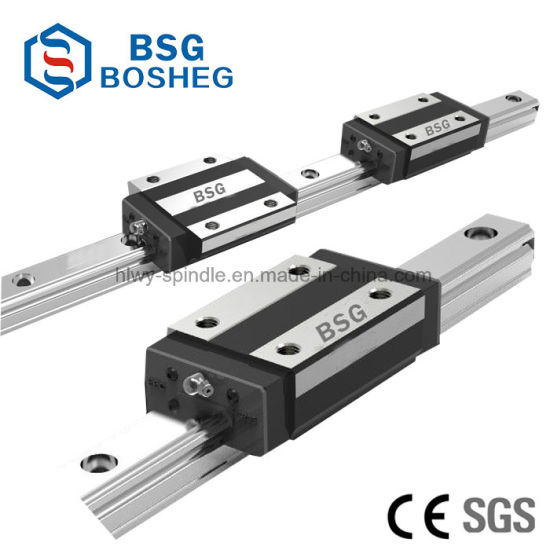 Factory Price Linear Rail Interchange Guide Rail and Slide Block