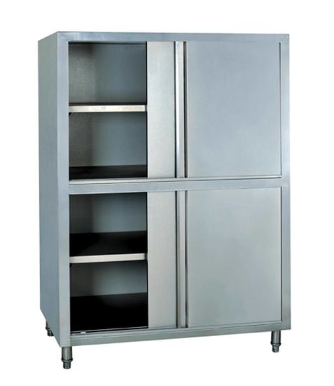 Vertical Stainless Steel Deck Food Storage Cabinet For Restaurant Pictures Photos