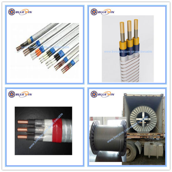 Copper Wire Manufacturing Companies | China Submersible Cable Submersible Pump Cable Armoured Flat Circle