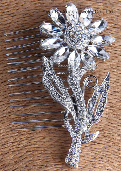 Wholesale Fashion Accessories Wedding Hair Accessories Hair Comb Hair  Ornaments for Bride Promotion Gift