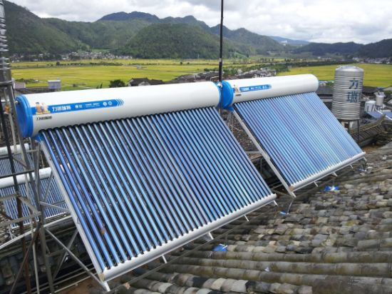 300L Evacuated Tubes Solar Water Heater (standard)