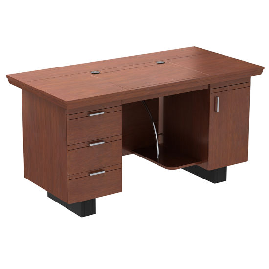 Lowest Price Executive Wooden Office Table Design Computer Desk