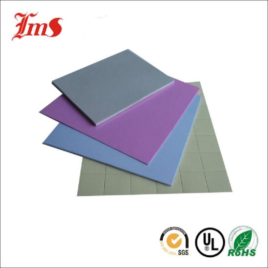 China 4mm Thickness Silicon Manufacturer Thermal Pad Rubber Sheet