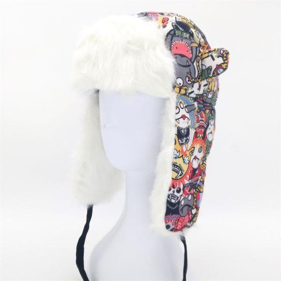 105f700a380 China 2018 High Quality Warm Ear Flaps Faux Fur Hats - China Trapper ...